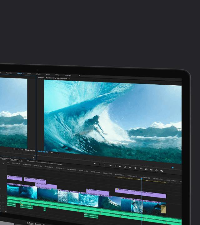 Adobe Premiere Pro CC Ansicht