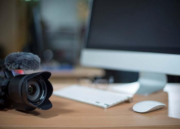 Videobearbeitung Film Equipment