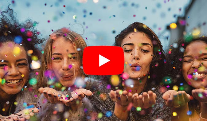 cuttigo Glückwunschvideo Gratulationsvideo