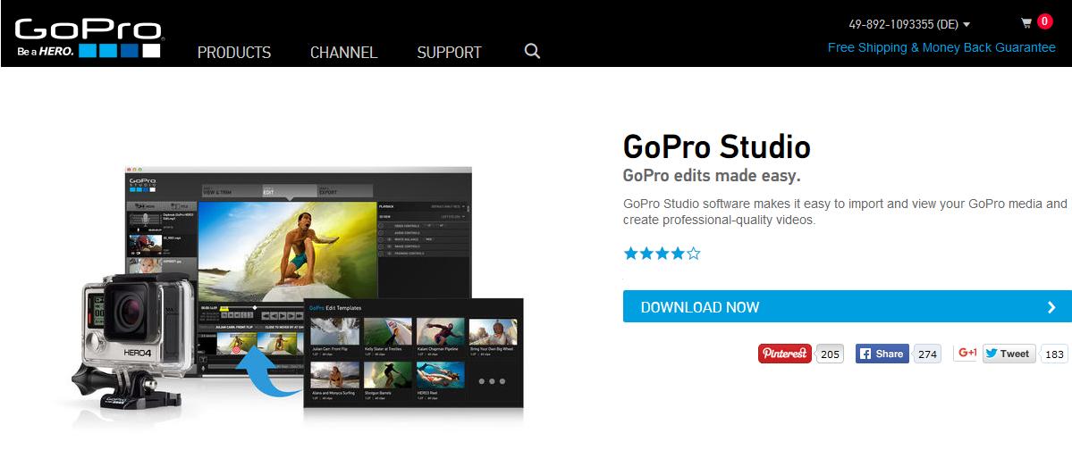 gopro studio