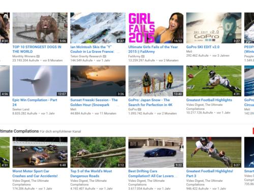 Online Videoplattformen